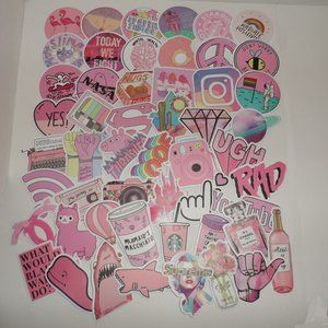 Other - 🍁🍁🍁🍁NEW-Lot of 52 Stickers in Various Shapes
